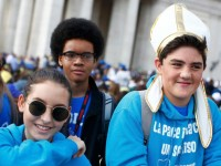 U.S. teens say faith strengthened at youth celebration in Rome