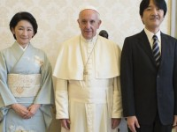 Pope Francis Meets Japanese Royalty