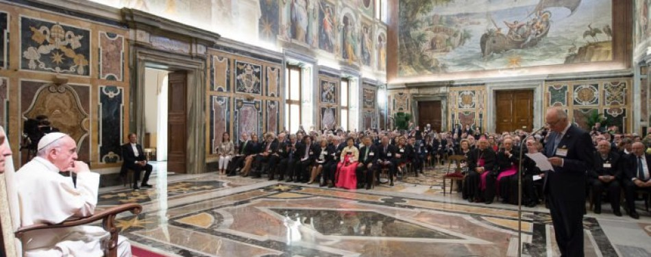 "Pope's Address to ""Centesimus Annus – Pro Pontifice Foundation"