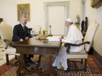 Pope Meets President of Belarus