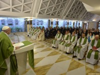 Pope's Morning Homily: 'Convert Every Day'