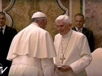Francis' Address to Benedict for 65th Anniversary of Pope Emeritus' Priestly Ordination
