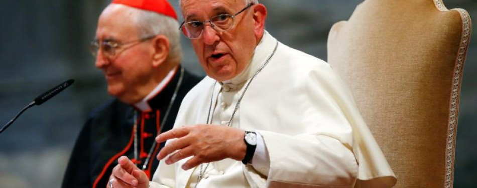 Too many couples do not understand marriage is for life, pope says