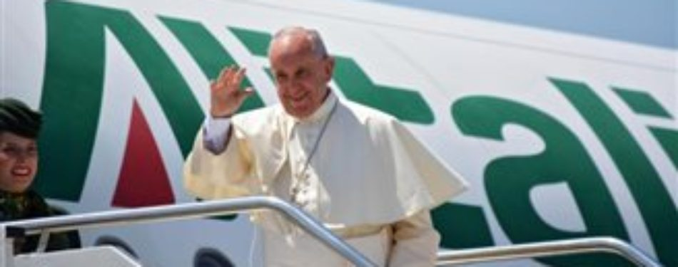 Pope Francis Arrives In Poland