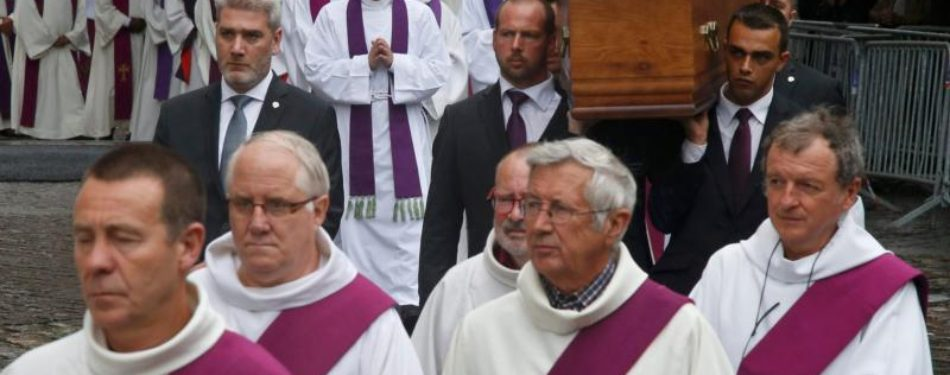 At Father Hamels Funeral, Rouen Archbishop Urges Forgiveness