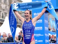 Faith, family lighten load for triathlete who travels with a lot of gear