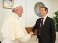 Pope Meets With Facebook Founder Mark Zuckerberg