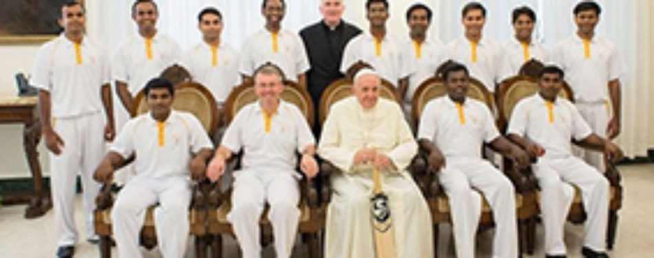 """""""€‹Vatican Cricket team heads to the UK"""