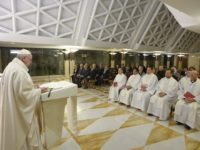 Pope's Morning Homily: Put Away the Cell Phones and Have Real Encounters