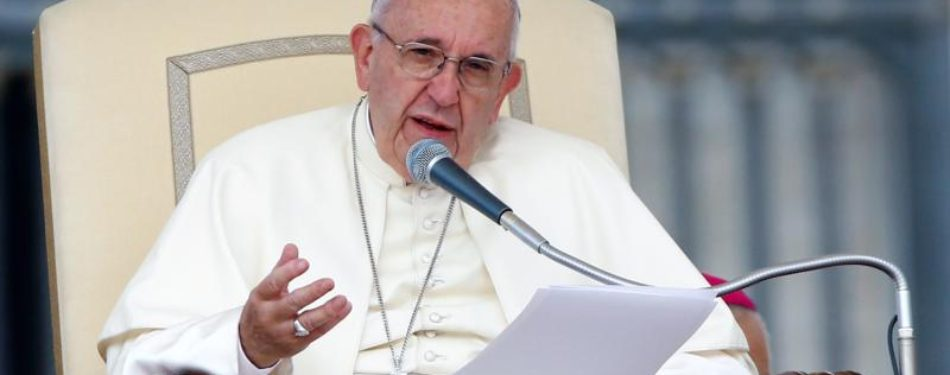 Christians Arent Greater Than God Pope Says