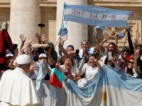 With love and regret, pope tells Argentina he cant visit this year or next
