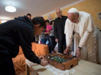 Pope Visits Home For Children