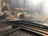 Fleeing Wildfires Like Escaping Gates of Hell