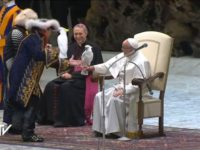 Circus Performers Entertain Pope Francis Again