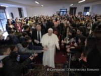 """€œWitness Faith With Joy and Do Not Engage In Proselytism,""€ Is Francis""€™ Advice to Young People of Guidonia"