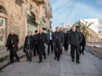 Bishops Visiting Holy Land: Christians Must Oppose Israeli Settlements