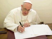 Pope's Prayer To March For Life: May There Be A 'Mobilization Of Conscience To Defend Life'