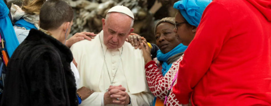 """""""€œDon""""€™t Abandon the Poor and the Refugees,""""€Says Pope"""