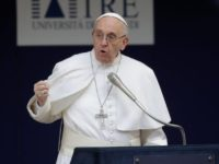 Counteract Vitriol By Toning It Down, Talking Less, Listening More, Pope says
