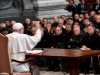 Faith Cant Grow Without Temptation, Pope Tells Rome Priests