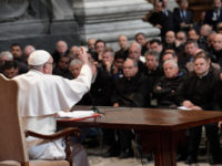 Pope To Roman Clergy: 'The True Revolution Is To Go To The Roots'
