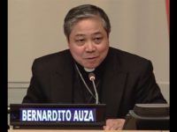 Archbishop Auza's Address to Fordham University on Human Trafficking