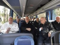 Returning To Vatican Following Spiritual Exercises, Pope Sends Donation to Syria
