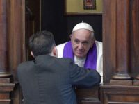 """Pope Goes To Confession In Saint Peter""""s, Hears Confessions Of 7 Penitents"""