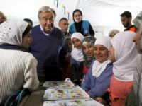 This Time, Guterres Visits Zaatari Refugees As The U.N.s Top Official
