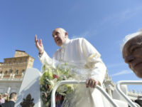 Pope Blesses a Statue of St Anthony That Survived Bombardment of Cassino