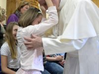 Continuing Mercy Friday Practice, Pope Visits Center For The Blind