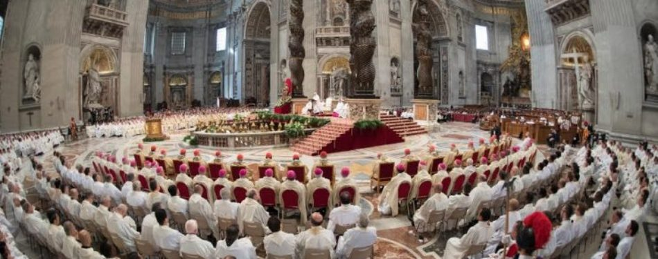 Pope Francis' Homily At Chrism Mass