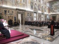 Pope's Address to Papal Foundation