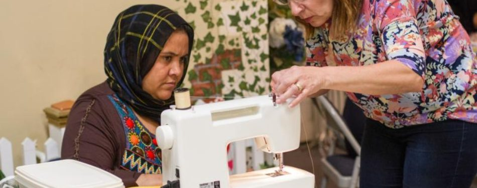 Afghan Women Left Everythng Behnd — Except Their Sewing Skills