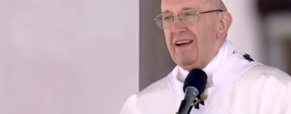 Pope Explains How to 'Tangibly' Progress Toward Peace and Justice