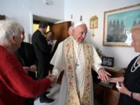 Pope Goes Door To Door, Blessing Homes Of The Poor