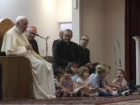 'No Amusing the Devil' (Pope's Q And A) With Children at Roman Parish)