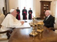Pope Francis Receives President of Ireland