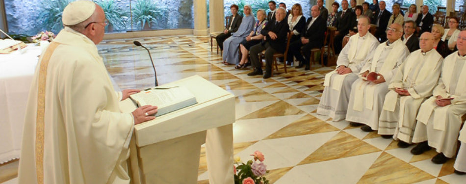 """Pope"""" s Morning Homily: Don't Disguise, Admit You Are God""""€™s Clay"""