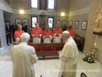 Benedict XVI Visited By New Cardinals