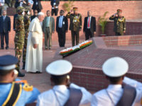 """Bangladesh: Pope""""€™s Visit to the Monument of Martyrs of Savar"""