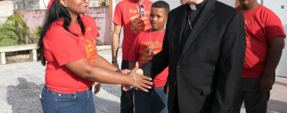 In Puerto Rico, much work to do and much suffering remains, says cardinal