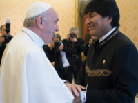 Pope Receives President Morales of Bolivia in Vatican