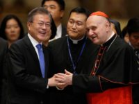Pope, meeting South Korean leader, says hes open to visiting North