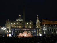 Christmas spirit in the air as Vatican unveils Nativity scene, tree