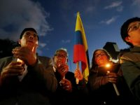 Pope says hes pained by deaths in Colombia, the Mediterranean