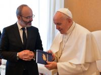 Cardinal virtue of justice must be protected, pope tells judges