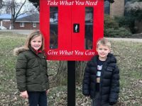 Indiana parish opens Blessing Box as a gift to people in need