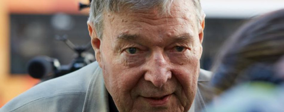 Update: Judge sentences Cardinal Pell to six years in prison on abuse charges