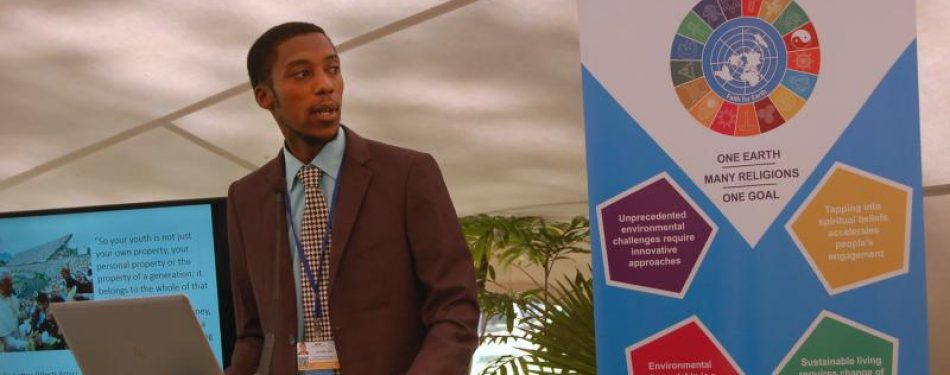 Head of African youth network: Listen to young people on ecology